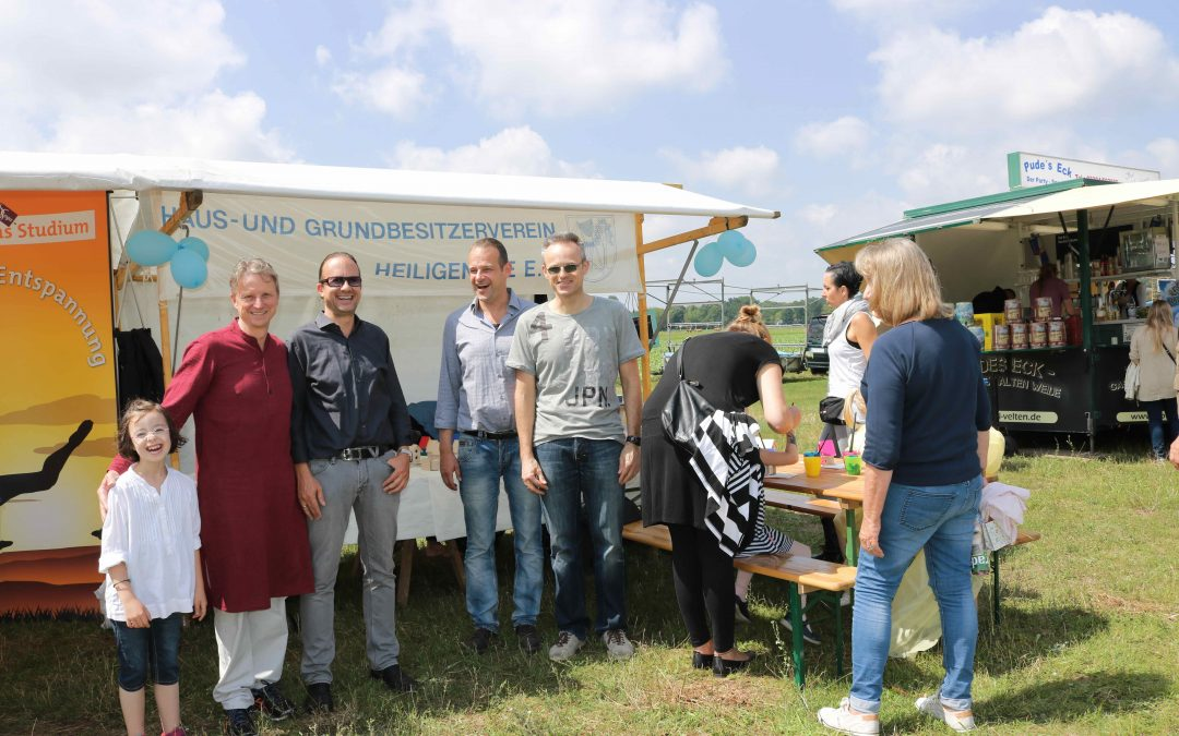 Teilnahme am Sommerfest Heiligensee auf dem Nordfeld am 8. Juli 2017